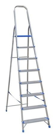 DOSTAWA GRATIS! 99674661 Drabina wolnostojąca Drabex 7 stopniowa (wysokość robocza: 3,52m)