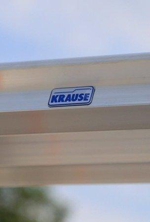 DOSTAWA GRATIS! 99674690 Drabina dwustronna Krause Dopplo 2x6 stopnie (wysokość robocza: 2,85m)