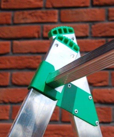 DOSTAWA GRATIS! 99674737 Rusztowanie - podest roboczy drabina 2x7 Aloss 2w1 (wysokość robocza: 3,14m)