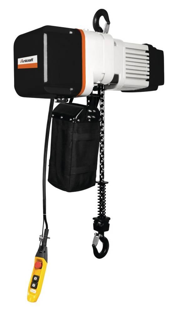 Elektryczna wciągarka łańcuchowa hakowa Unicraft (udźwig: 1 T, wysokość podnoszenia: 6m) 32276354