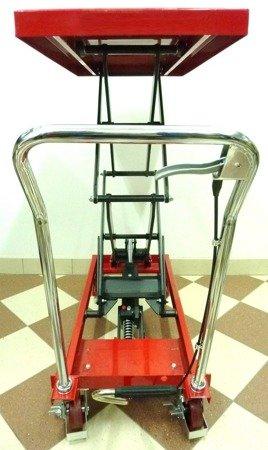 IMGER Wózek platformowy nożycowy (udźwig: 350 kg, wymiary platformy: 910x500 mm, wysokość podnoszenia: 355-1300mm) 13876271