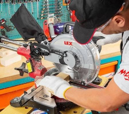 LETA Ukośnica piła do drewna z posuwem silnik indukcja (wymiary tarczy: 254x30x2,4mm, moc silnika: 2800 W) 21777684