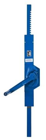 Podnośnik mechaniczny zębaty do kontenerów - wersja ścienna (udźwig: 5 T, wysokość: 850 mm) 22077079