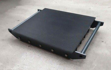 Stalmechon Wózek stały do transportu maszyn, urządzeń i sprzętu (rolki: 36x poliamid, nośność: 39 ton) 50276377