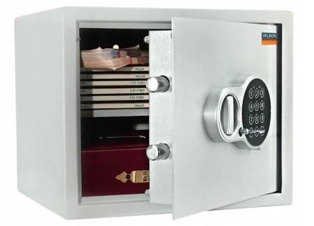 Szafer Sejf biurowy 3mm! zamek elektroniczny 22 litry (wymiary:  280x340x317 mm) 15076451