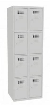 Szafer Szafa szafka 8 skrytkowa depozytowa socjalna (wymiary: 1800x600x500 mm) 15076473