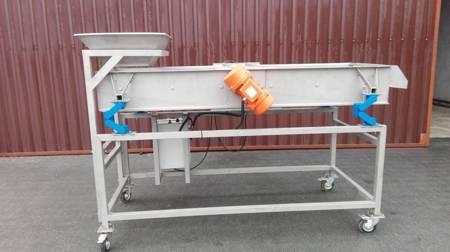 Ternet Przesiewacz ze stali nierdzewnej (powierzchnia robocza sita: 50 cm x 100 cm) 09978000