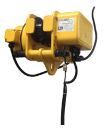 Wciągarka bramowa skręcana miproCrane DELTA 300, wciągnik łańcuchowy elektryczny zintegrowany z wózkiem elektrycznym + kaseta sterująca (udźwig: 450 kg, wysięg: 6000 mm, wysokość podnoszenia: 5000 mm) 33976485