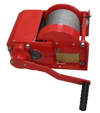 Wciągarka linowa ręczna (udźwig:1500 kg, długość liny: 15m) 22477638
