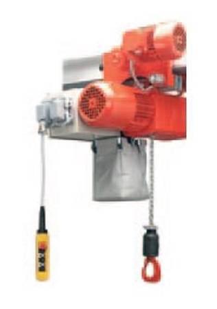 Wciągnik łańcuchowy elektryczny na wózku jezdnym elektrycznym (udźwig: 1500 kg, prędkość podn.: 13,2/3,12 m/min, wysokość podnoszenia: 160 m) 03077983