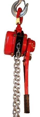 Wciągnik łańcuchowy ręczny dźwigniowy (udźwig: 750 kg, długość łańcucha: 1,5m) 03076096