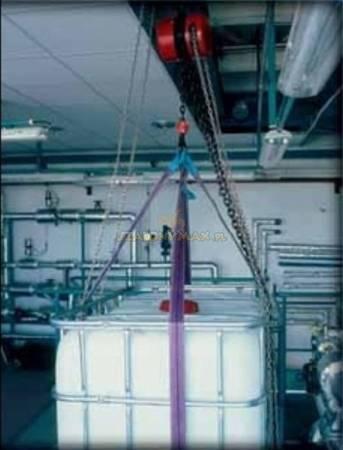 Wciągnik łańcuchowy z przekładnią planetarną (wysokość podnoszenia: 3m, udźwig: 7,5 T) 22077001