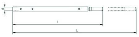 Wciągnik linowy z liną 20m (udźwig: 0,8 T) 22076813