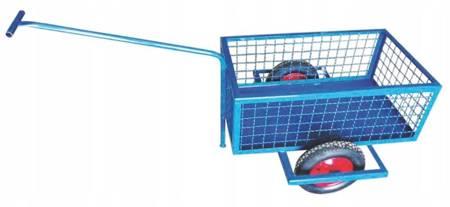 Wózek gospodarczy dwukołowy (udźwig: 250 kg, wymiary siatki: 5,5 x 5,5) 00077994