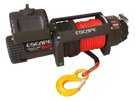 Wyciągarka Escape EVO 15000 lbs [6810 kg] IP68 z liną syntetyczną 12V (lina: 12mm 25m) 81877781